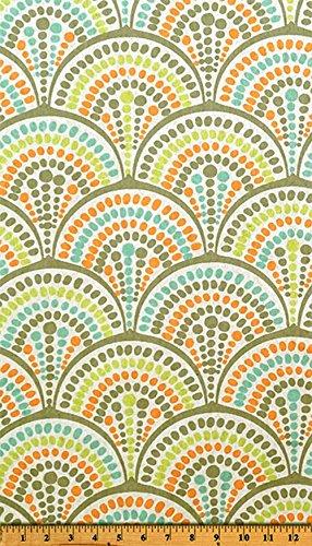 Fabric Shower Curtain - HAVANA RIDGELAND - 72