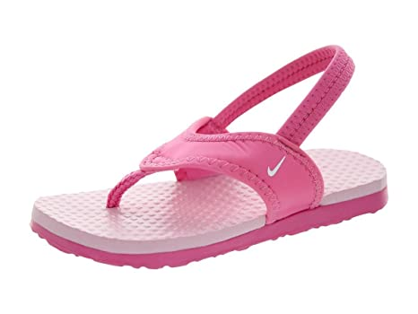 c15d1919e Nike Toddlers Little Celso (TD) Gym Pink White Perfect Pink Sandal 9  Infants US  Amazon.in  Baby