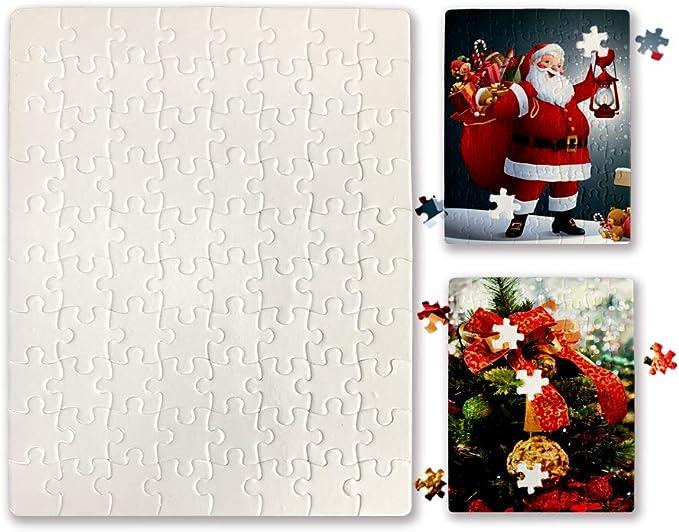 Printable Jigsaw A5 Puzzle DIY Blank Dye Sublimation Heat Press Print 80 parts