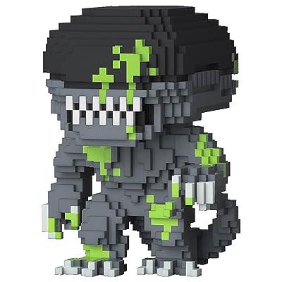 Funko POP! Horror: 8-Bit Alien (Blood Splattered Version) Vinyl Figure: Toys & Games