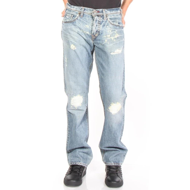 1921 Men's M46-RABMED Straight Jeans