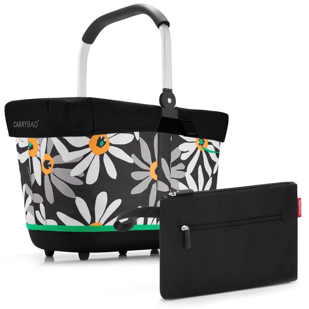 reisenthel - EXKLUSIVES ANGEBOT! carrybag 2 + cover + GRATIS case 2 ! Einkaufskorb Einkaufstasche NUR SOLANGE DER VORRAT REICHT (margarite)