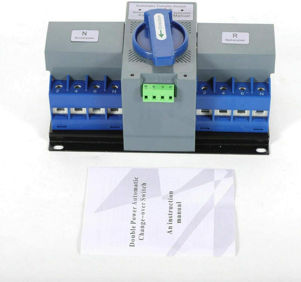 Generatorzubehr bertragungsschalter 4P 63A Automatischer ...