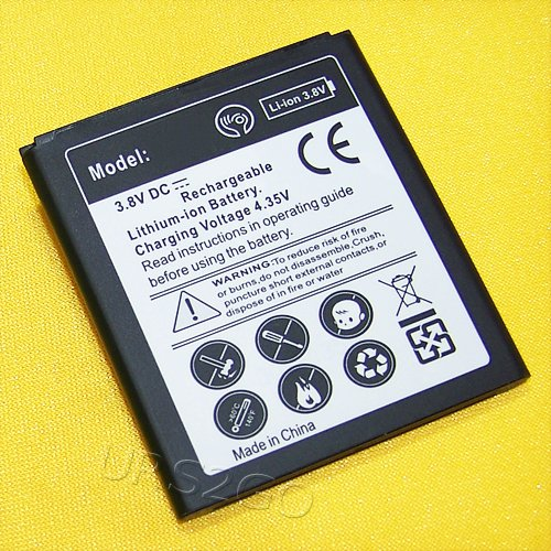 High Capacity 2850mAh Extra Standard Replacement Battery for Samsung Galaxy J3 Luna Pro S327VL Smartphone - USA FAST (High Capacity Replacement)