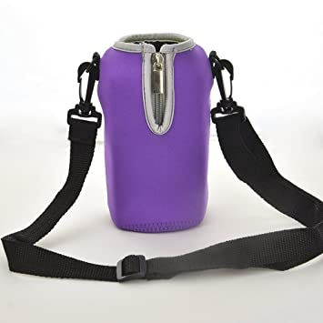 6eee7664118d Amazon.com : EasyWisdom 22oz Neoprene Water Bottle Sleeve/Pouch ...
