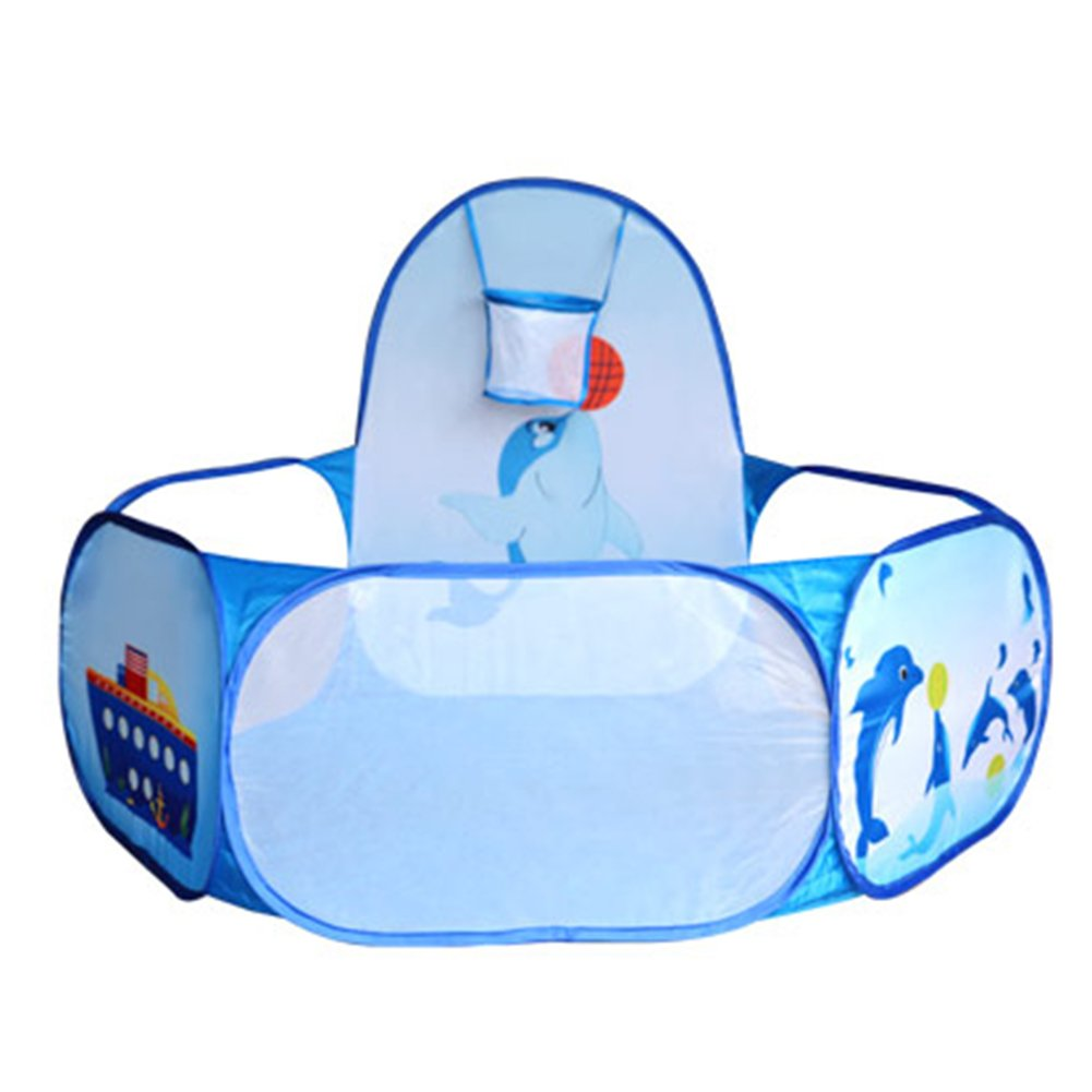 Foerteng Kids Ball Pit Tent, Collapsible Washable Toy Pool Children Hexagon Ocean Game Play Playpen House