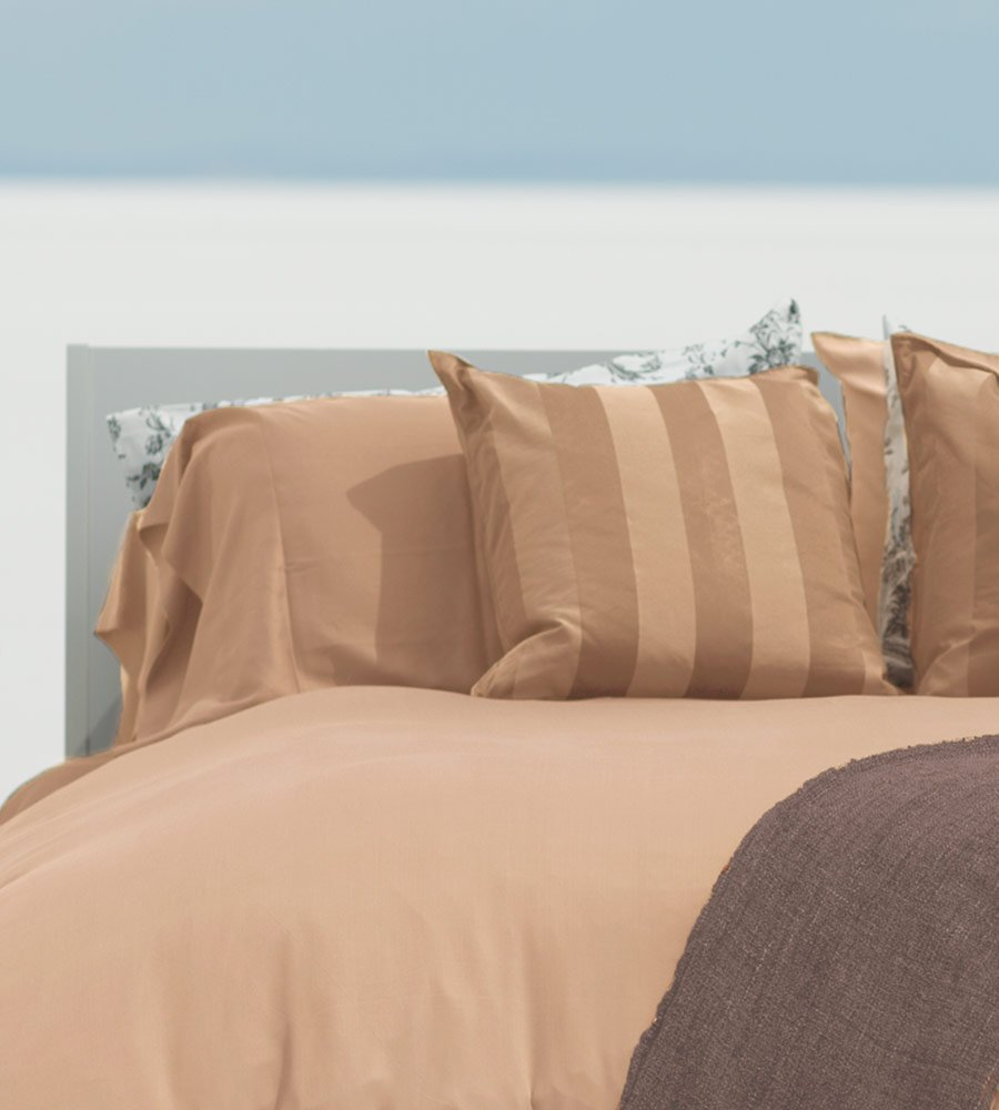 Classic Bamboo Sheets by Cariloha - 4 Piece Bed Sheet Set - Softest Bed Sheets and Pillow Cases - Lifetime Protection (King, Sandy Shore) by Cariloha (Image #2)