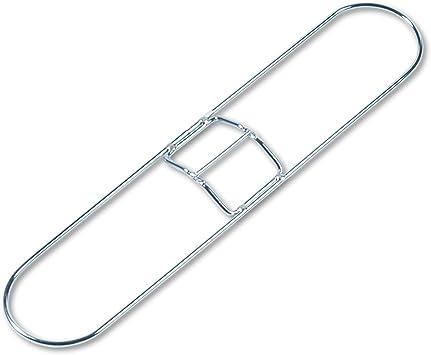 "Boardwalk Clip-On Dust Mop Handle Lacquered Wood Swivel Head 1/"" Dia x 60in Long"
