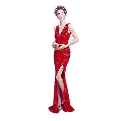 c2e2ed57d5768 ロングドレス演奏会 イブニングドレス結婚式 パーティードレス 二次会 披露宴 成人式 ワンピース フォーマルドレス マーメイド赤