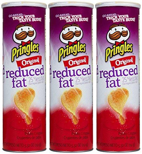 Pringles Chips - Reduced Fat Original - 5.32 oz - 3 pk