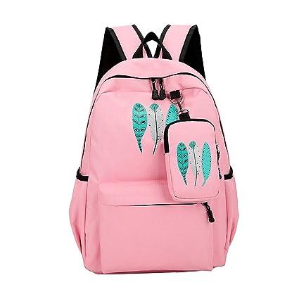 c554c237f25d Amazon.com: New Bagpack 2019 Clover Backpacks for Women Schoolbag ...