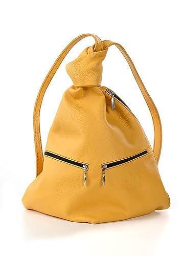 22445e1389993 Hands-free Leder Handtasche Sunshine  Amazon.de  Handmade
