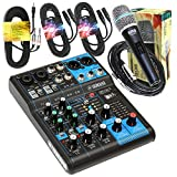Yamaha Package Bundle - Yamaha MG06X 6-Channel Mixer + EMB...
