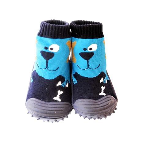 acheter populaire a9a5a f536f C2BB - Chaussons-chaussettes bébé antidérapants semelle ...