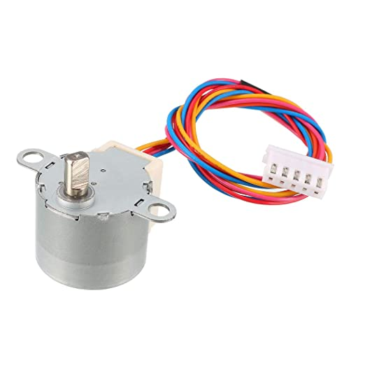 uxcell 24BYJ48 DC 12V Reductor reductor de motor paso a paso Micro ...