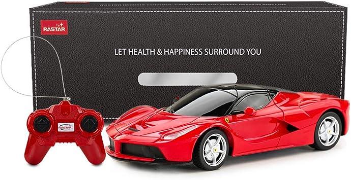 Rastar 1 24 Ferrari Rc Auto Ferrari Ferrari Laferrari Ferngesteuertes Auto Modell Spielzeug Auto Für Kinder Rot Amazon De Spielzeug