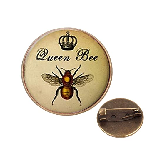 Amazon.com: Pinback Botones insignias pines Queen Bee Royal ...