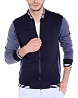 Campus Sutra Men's Quilted Cotton Jacket