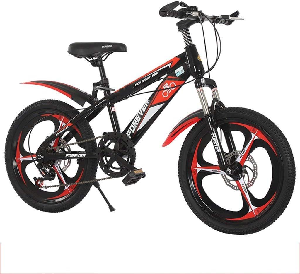 Deportes al aire libre Juguetes Bicicletas Bicicletas infantiles 18/20 pulgadas chicos y chicas bicis de la velocidad escuela primaria Bicicletas de montaña del freno de disco de amortiguación de acer