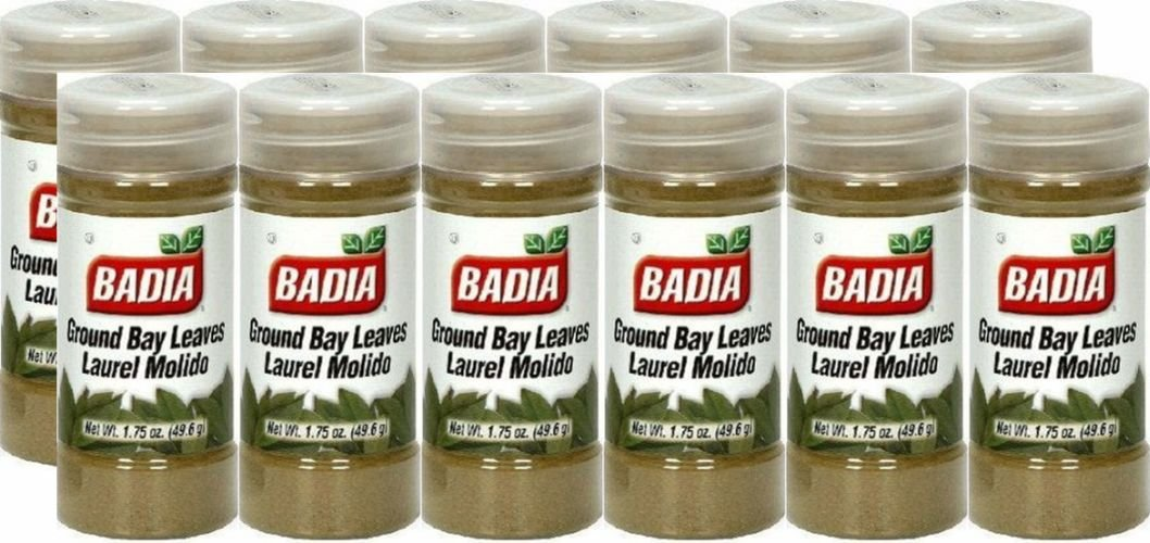 Badia Spices inc Spice, Bay Leaves Ground, 1.75-Ounce (Pack of 12)