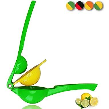 Yimobra Original Manual Lemon Squeezer,Hand Citrus Lime Juicer Press Premium Quality Professional Kitchen Tool Green