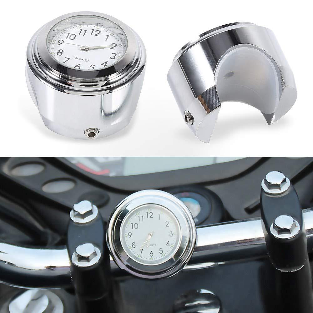 Montre pour guidon 7//81 Montre pour guidon de moto Montre chronom/ètre pr/écise