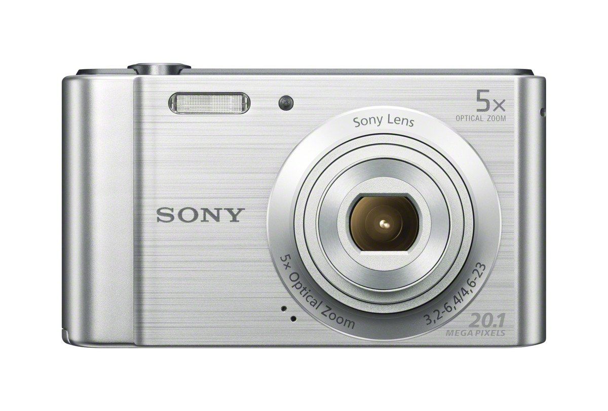 Sony (DSCW800) 20.1 MP Digital Camera (Silver) - 61fIEs7CAuL - Sony (DSCW800) 20.1 MP Digital Camera (Silver)