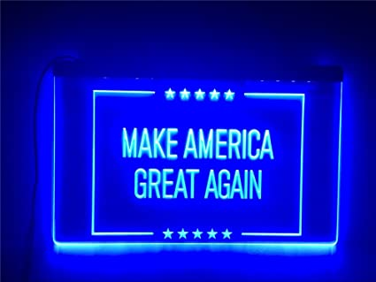 Amazon com : APFoo Make America Great Again LED Neon Light