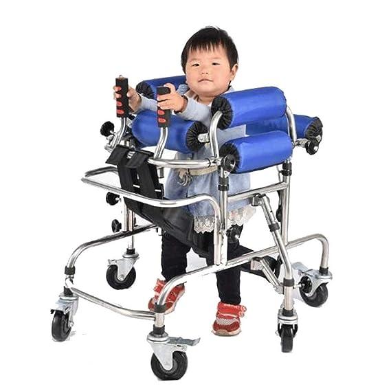 Andador de los niños de 6 ruedas Walker, bipedestador ...