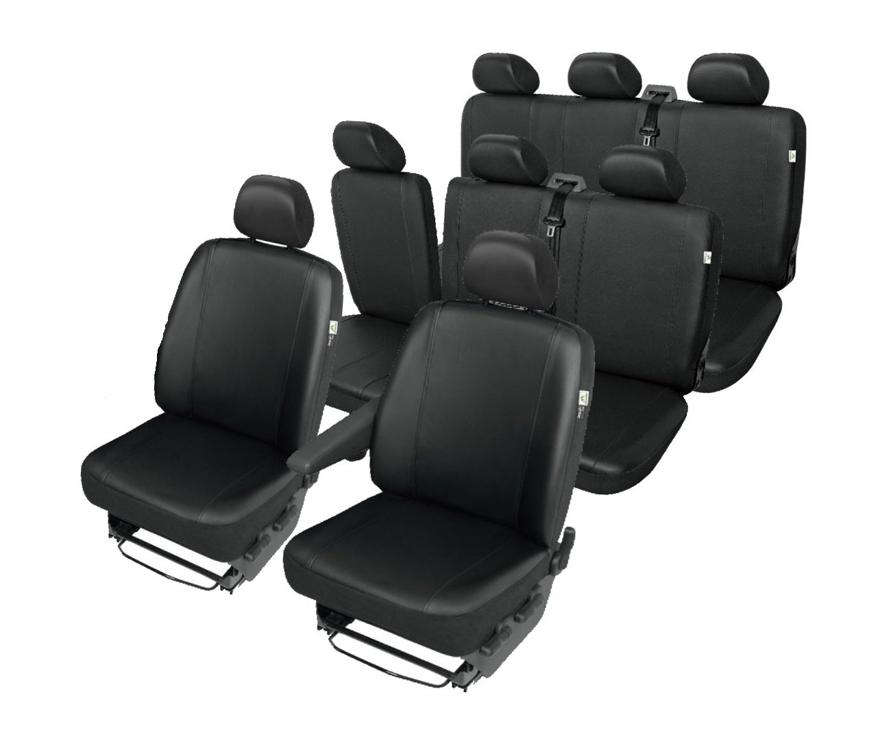Practical KB-DV1M1M-1M2XL-3-05 Universal BUS-Transporter Sitzbez/üge f/ür die Vordersitze Kegel-Blazusiak