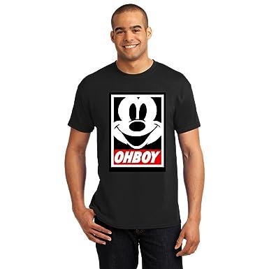 cf68dbd5 Amazon.com: OCPrintShirts® Men's Disney World Journey Mickey OH BOY ...