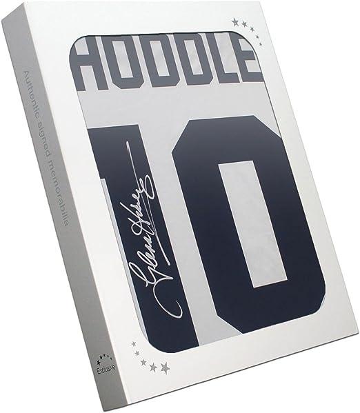 Glenn Hoddle Firmado Tottenham Hotspur Camisa: Número 10. En la caja de regalo: Amazon.es: Deportes y aire libre