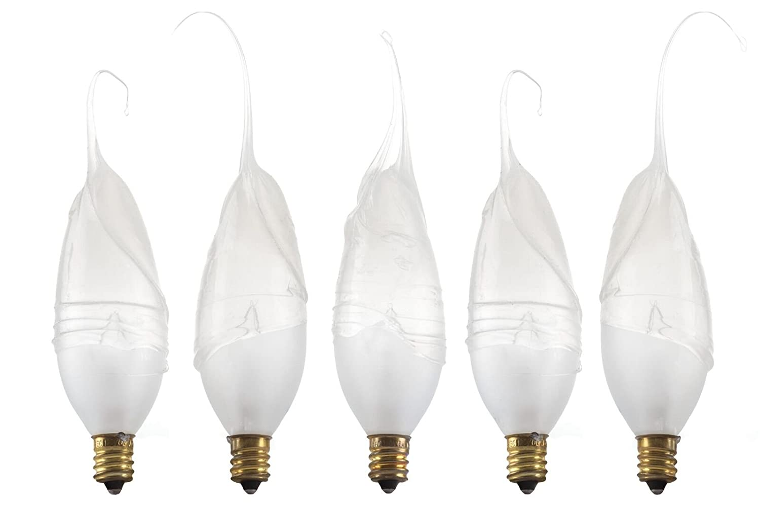 Wish Designs USA Silicone Dipped Hand Dipped Light Bulb 40 watt #40w20pk Frosted 20 bulb quantity