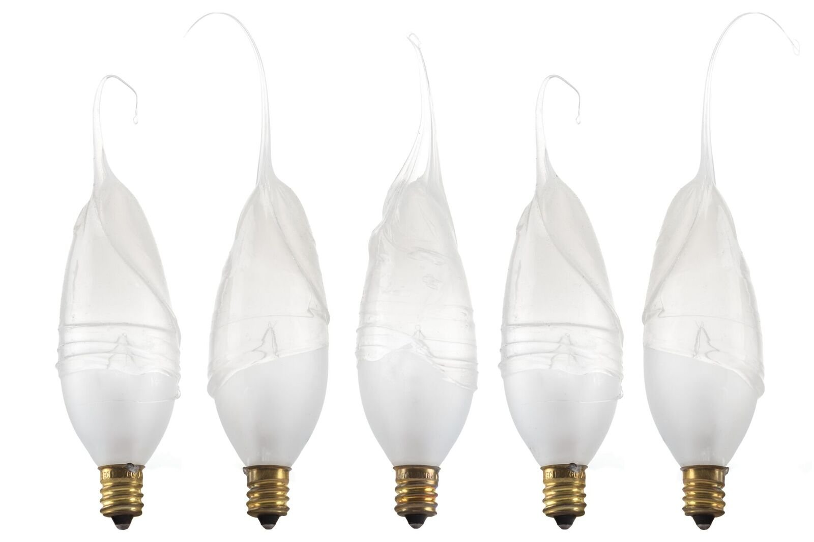 Wish Designs USA Silicone Dipped Hand Dipped Light Bulb, Frosted, 60 watt, 30 bulb quantity, #60w30pk by Wish Designs USA