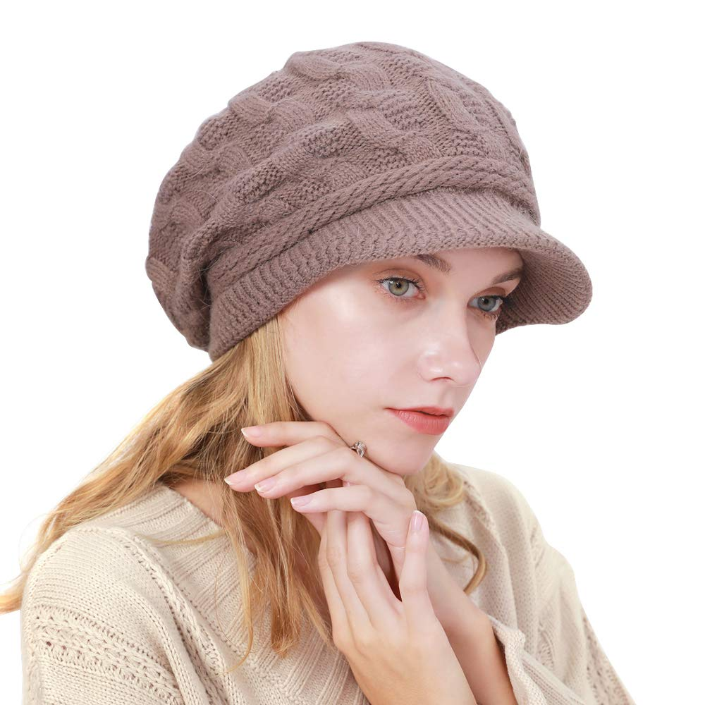 This cap fits great and will keep your head super warm in winter!