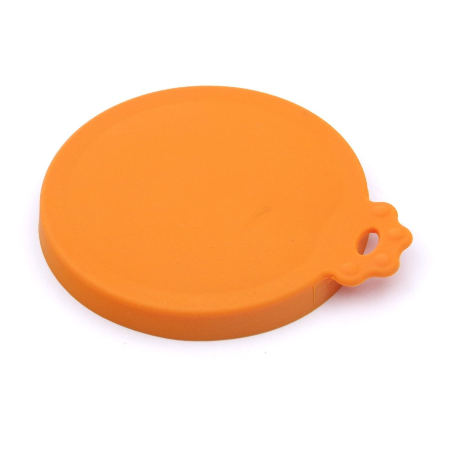 Super Design Silicone Can Cover for Multiple Sizes Orange