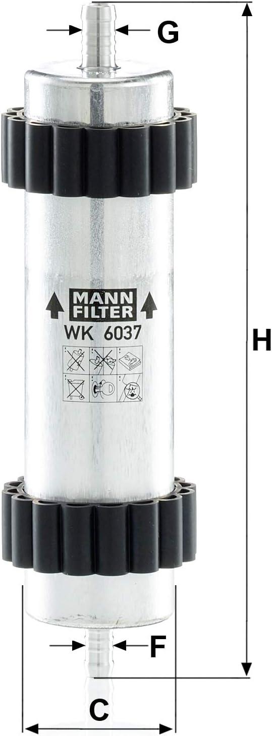 Para autom/óviles Mann Filter WK 6037 Original Filtro de Combustible