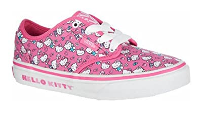 New Vans Atwood Hello Kitty Shoes Size 10.5 Pink Girls Sneakers