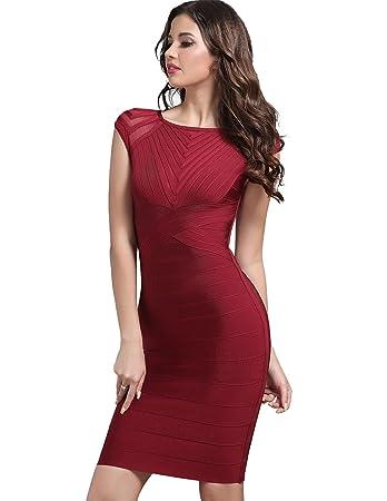 098a078214000 Hochzeitsgast-Kleid Enge-Kleider Bodycon Partykleid V Ausschnittfor ...