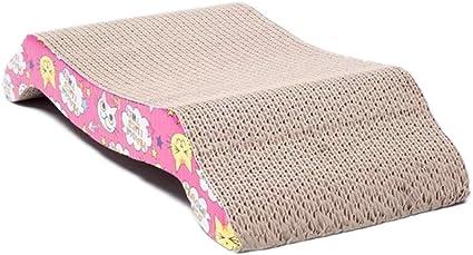 Cat Kitten Corrugated Claws Care Scratcher Board Pad Bed Mat with Free Catnip