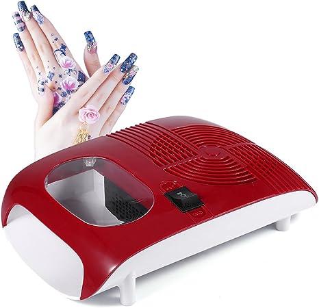 Soplador de secador de esmalte de uñas de aire caliente / frío con ...