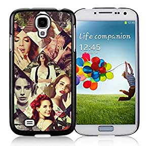 Beautiful And Durable Designed Case For Samsung Galaxy S4 I9500 i337 M919 i545 r970 l720 With LANA DEL REY 0 Black Phone Case