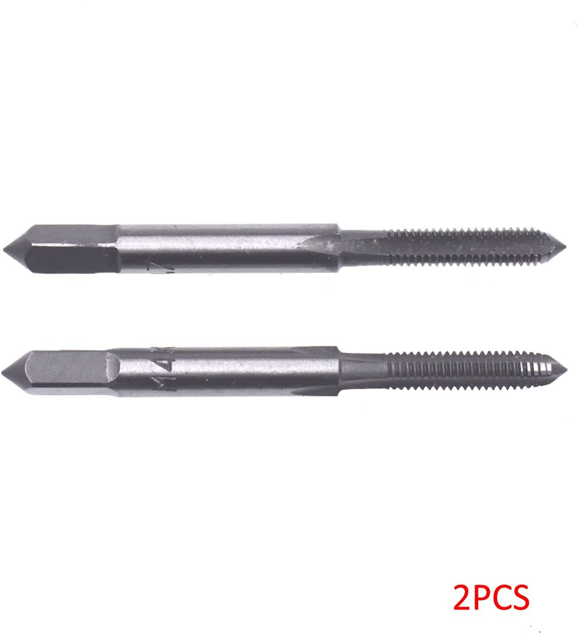 2pcs M12x1.75 Straight Fluted Screw Metric Hand Tap For Metalworking