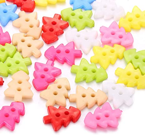 10 x 22MM LARGE 4 HOLE NEW PINK RESIN SEWING KNITTING CROCHET CRAFT DIY BUTTONS