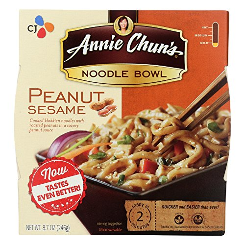 Peanut Sesame Noodle Bowl (Annie Chun's Peanut Sesame Noodle Bowl - Case of 6 - 8.8 oz.)