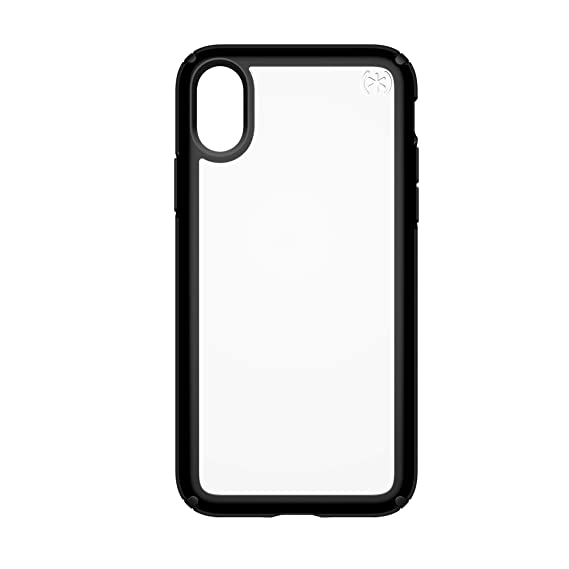 buy online 349ca 29e5e Speck Products Presidio Show Case for iPhone XS/iPhone X, Clear/Black