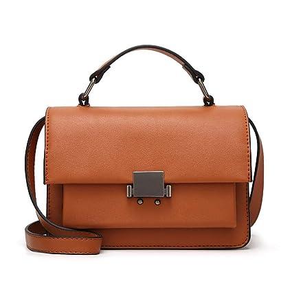 329be237c396 Amazon.com: Maerye Simple stylish women's handbag single shoulder ...
