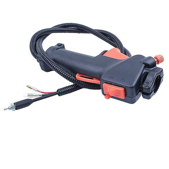 Haishine Manija Interruptor Cable del gatillo del Acelerador para ...