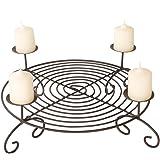 adventskranz ast alu silber gro edel v39175. Black Bedroom Furniture Sets. Home Design Ideas