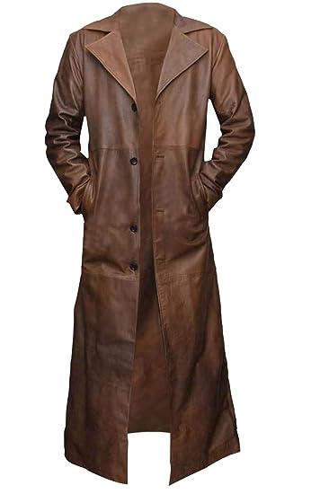 chaqueta de piel chicago marron hombre